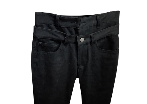 도조(DOZOH) HIGH WAIST DENIM JEAN